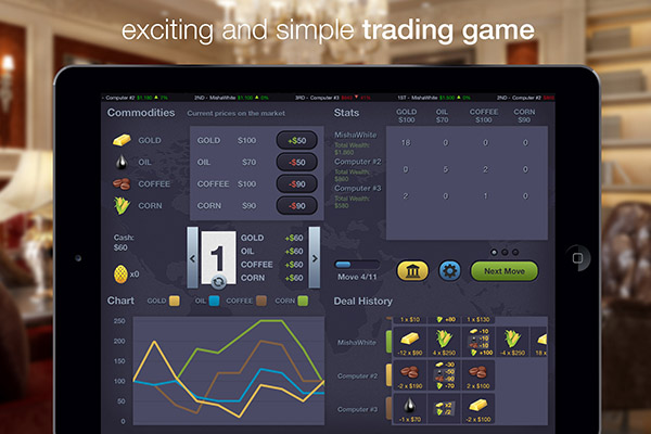 Merc – commodity trading game