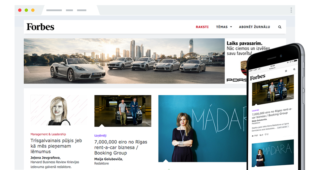 Forbes Latvija – Online | Infinite Software